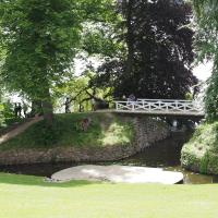Sophienholm Park bridge